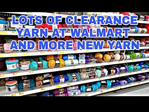 YARN SHOPPING @ WALMART | HUGE CLEARANCE YARN HAUL | BAGODAY CROCHET