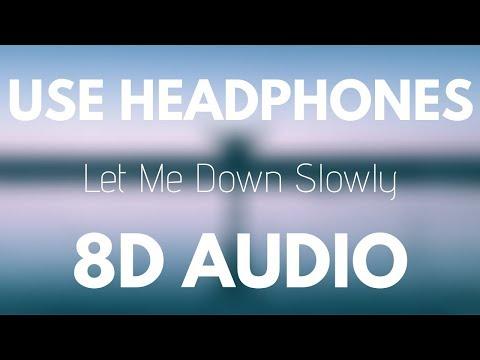 Alec Benjamin - Let Me Down Slowly (8D Audio)