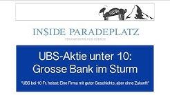 16.08.2019   INSIDE PARADEPLATZ MIT LUKAS HÄSSIG   UBS-AKTIE UNTER 10