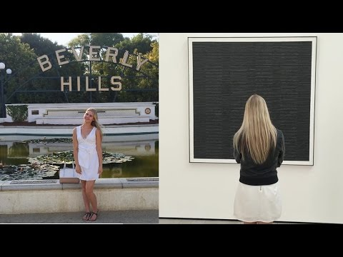 USA VLOG - DAY 2 ♥ LA- RODEO DRIVE, MUSEUMS, BEVERLY HILLS, THE GROVE.