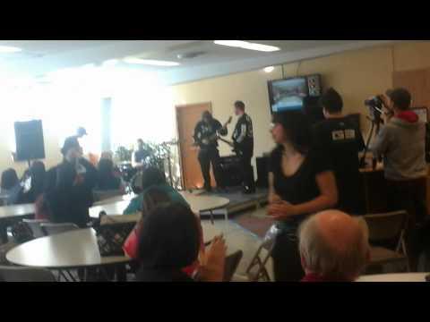 Vidéo de music au centre louis jolliet(6)
