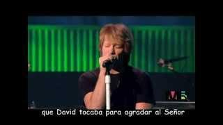 Bon Jovi - Hallelujah (subtitulos español) (cover-Leonard Cohen song)2.flv