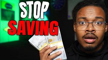 Stop Saving Money Start Doing This