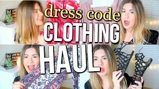 Back to School Clothing Haul || DRESS CODE APPROVED