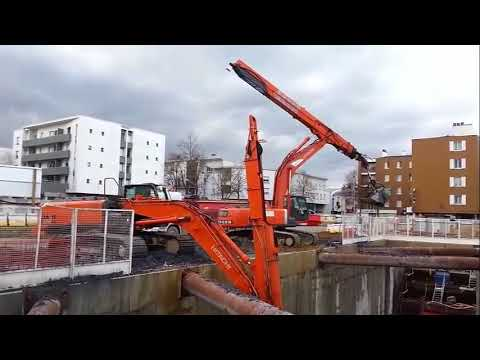 Amazing Biggest Heavy Equipment Excavator Automatic Working Fails & Skill Fastest Action Technology