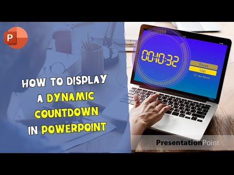 How to display a dynamic countdown in PowerPoint
