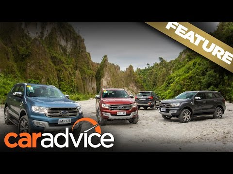 Road Trip: Philippines in four Ford SUVs | A CarAdvice Feature