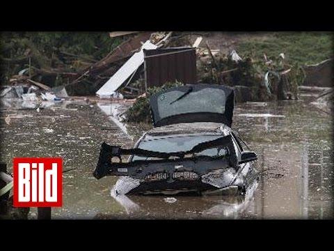 Horror-Flut in Bayern - Alle Infos - Bisher vier Tote - BILD Daily Live 02.06.2016