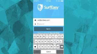 Install SurfEasy VPN on iPhone, iPad or iPod