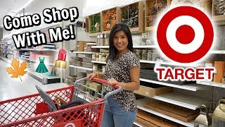 Come Shop With Me at TARGET! (Makeup, Clothes, Fall Decor, Home Decor)