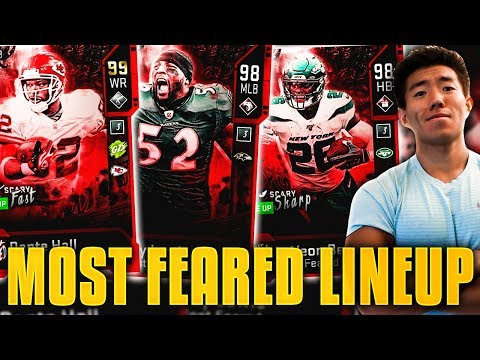 8 FEET TALL PLAYERS! ALL MOST FEARED TEAM! Madden 20 Ultimate Team