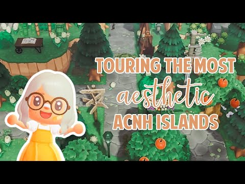 Touring The Most AESTHETIC, FIVE STAR Islands In Animal Crossing New Horizons