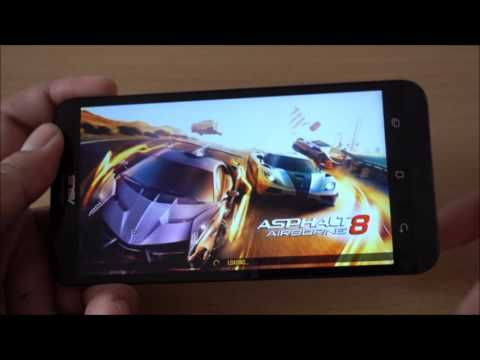 Game test on ASUS Zenfone Go TV