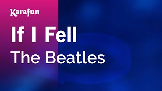 Karaoke If I Fell - The Beatles *