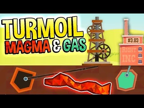 Turmoil - NEW DLC | MAGMA AND GAS INTRODUCED! - Turmoil The Heat Is On Gameplay