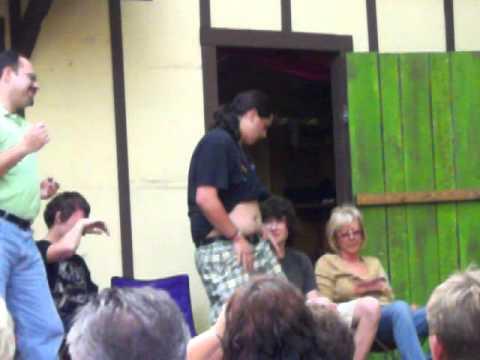 2010 Pittsburgh Renaissance Festival Hypnotist Rick Stratton