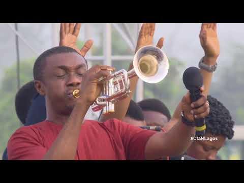 NATHANIEL BASSEY MINISTRATION REINHARD BONNKE NIGERIA FAREWELL CRUSADE