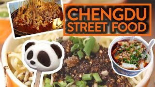 SZECHUAN STREET FOOD IN CHENGDU (SUPER SPICY) - Fung Bros Food