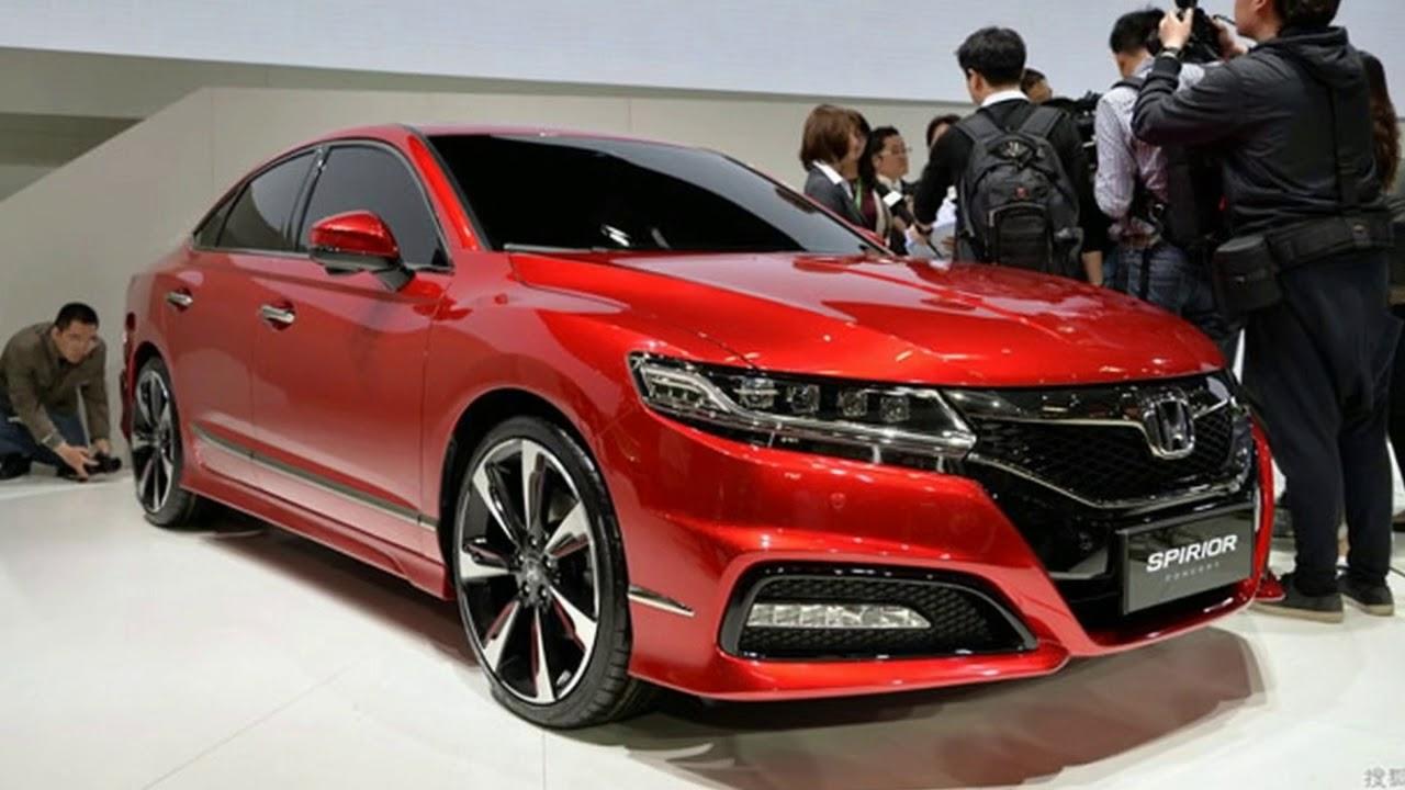 2018 Honda Spirior | Motavera.com