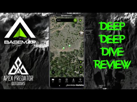 Basemap Outdoors Hunting Maps Deep Dive App Review!