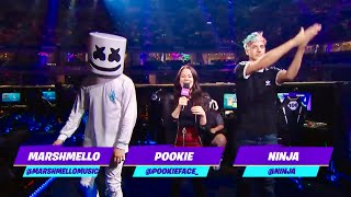 NINJA Leaks NEW Marshmello Fortnite Live Performance Announcement!!!