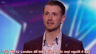(Vietsub) Soái ca ảo thuật của Britain's Got Talent - Ảo tung chảo.