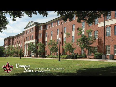 University Of Louisiana Campus Tour