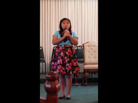 Grace Like Rain  (Aizel Chua) (The Music Academy) (Capistrano Connections Academy)