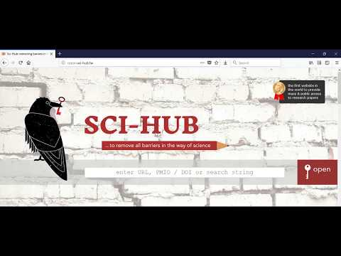 Sci-hub.cc is DOWN here is a  NEW Address