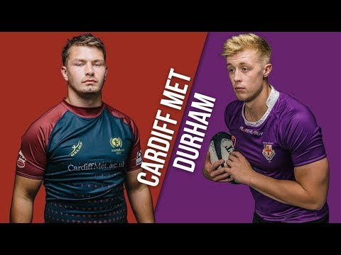 BUCS Super Rugby: Durham V Cardiff Met