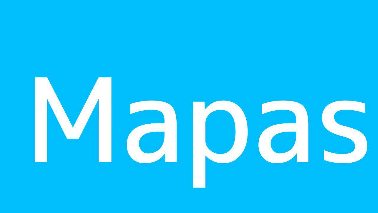 How to say Maps in Spanish - YouTube