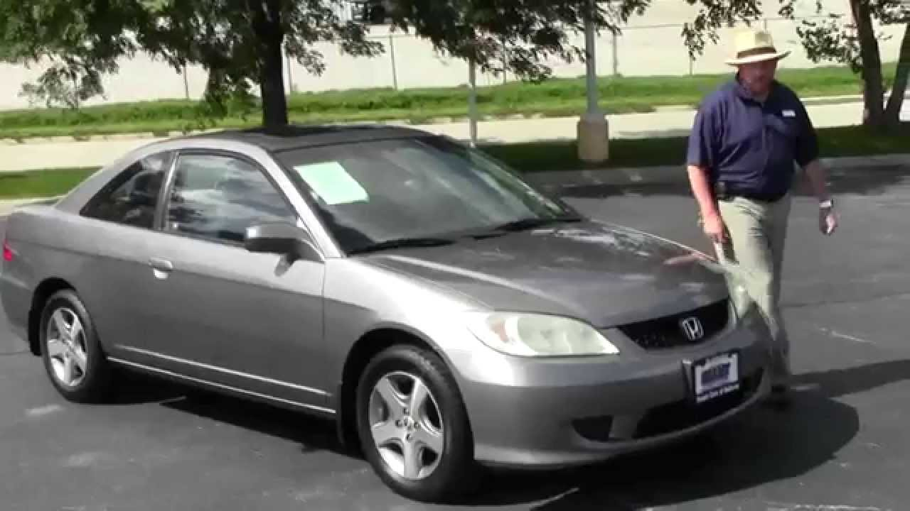 Used 2004 Honda Civic EX Coupe For Sale At Honda Cars Of