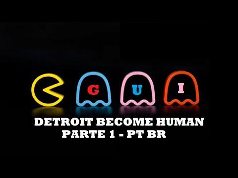 Detroit Become Human, Capítulo-1 Resgate da refém PT-BR! Canal do Gui PS4 PRO