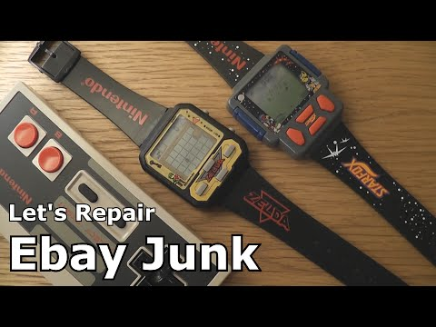 Let's Repair - Ebay Junk - 90's Nintendo Game Watches - Zelda - Starfox
