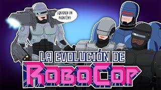La evolución de ROBOCOP (Animada)