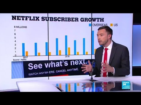 Business daily - Has Netflix lost its shine?