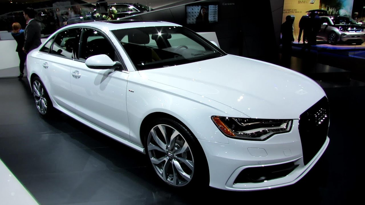 Exceptional 2014 Audi A6 TDI Quattro S Line   Exterior And Interior Walkaround   2014  Detroit Auto Show   YouTube