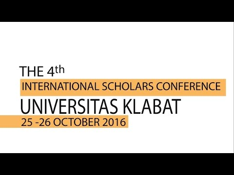 The 4th International Scholars Conference