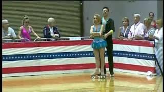 2015 us roller nationals wc team original dance mark cropley emily clark