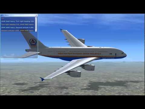 Penerbangan Pulang JPAM Dari Beijing ke KLIA