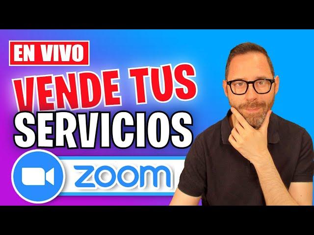 Vende tus servicios con Zoom
