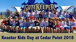 Koaster Kids Day at Cedar Point 2018