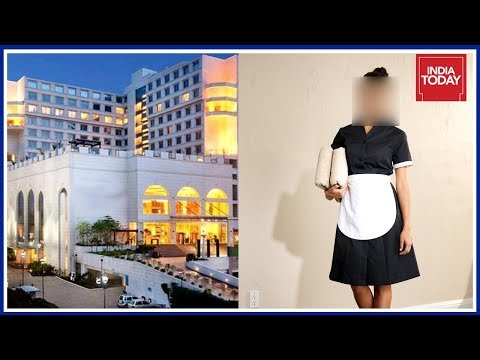 Lady Staff Molested By Senior Executive In Delhi Five Star Hotel : Caught On Camera