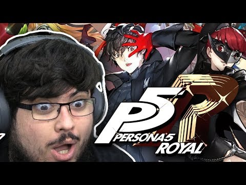 PERSONA 5 THE ROYAL GAMEPLAY TRAILER REACTION