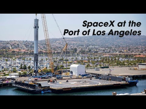 SpaceX Expands Operations at Port of Los Angeles
