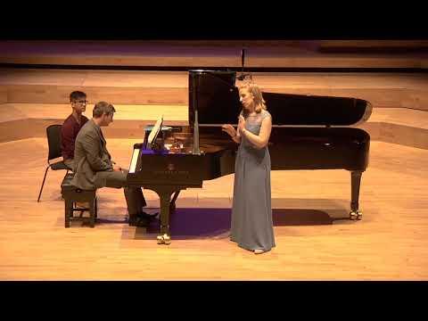 Hanna Liisa Kirchin ( mezzo soprano) Jonathan Fisher (piano) Gluck, Bizet, Massenet and Rossini