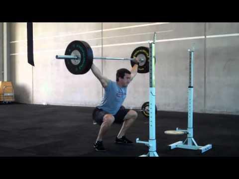 Paul Walton  CrossFit Athletic 4 x 4 OHS