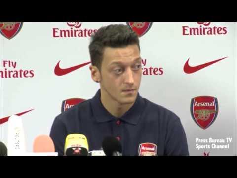 Mesut Özil Arsenal Press Conference