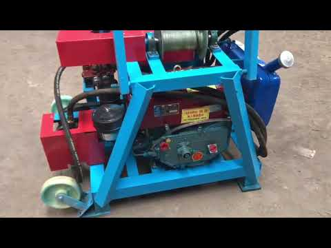 Full Download] 220v Power Hydraulic Drilling Rig For Water Well Made