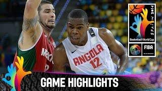 Angola v Mexico - Game Highlights - Group D - 2014 FIBA Basketball World Cup